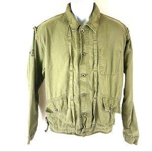 Levi's Men's Green Jacket Army M